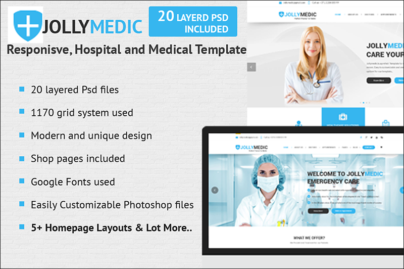 Medical HTML Site Template