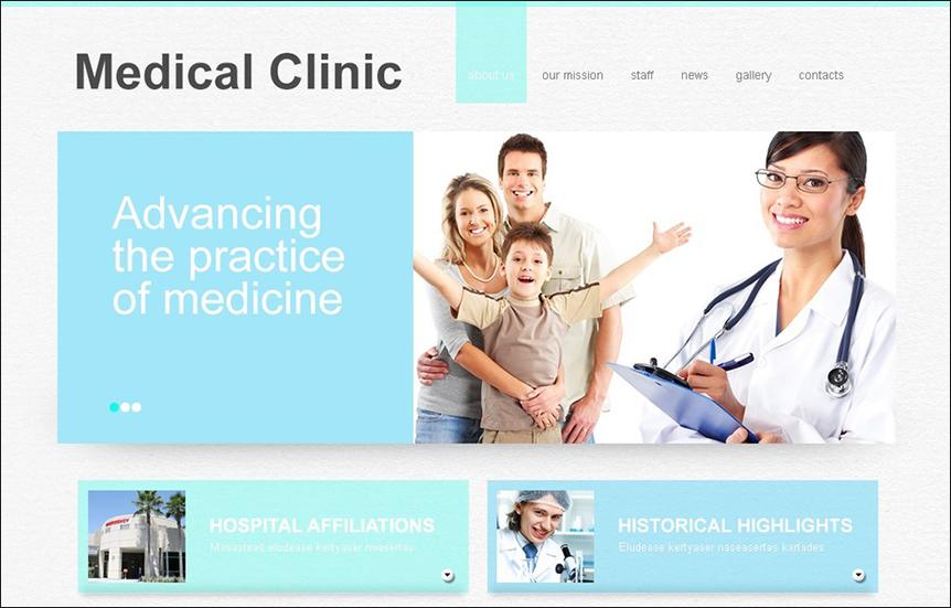 Medical & Healthcare Responsive Joomla Template