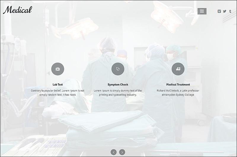 Medical Responsive HTML Theme