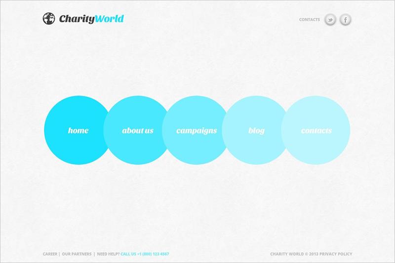 Minimalism Charity Joomla Template