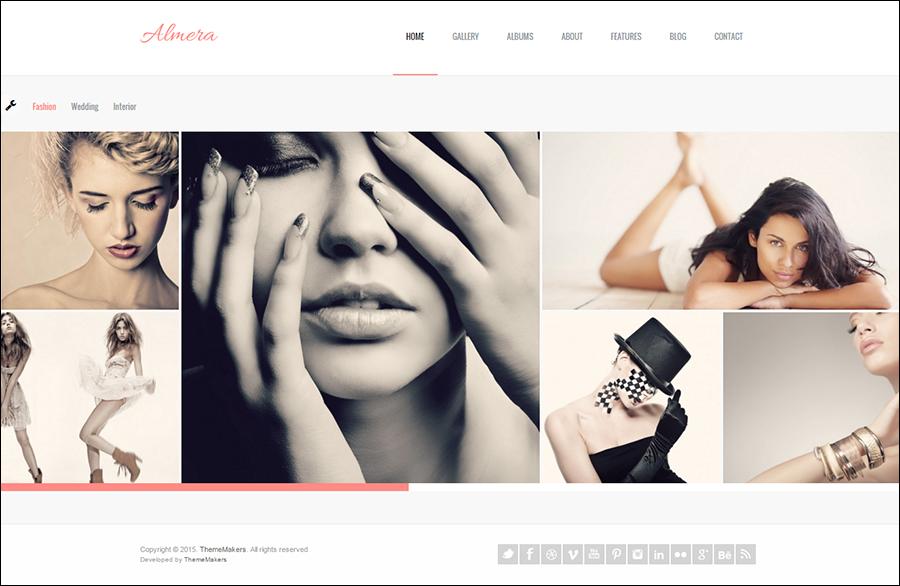 Modern Agency Portfolio WP Theme