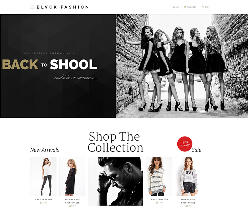 Modern Ecommerce HTML Fashion Template