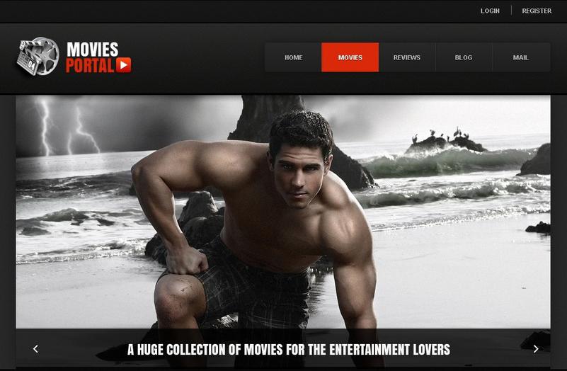 Movie Portal Joomla Template