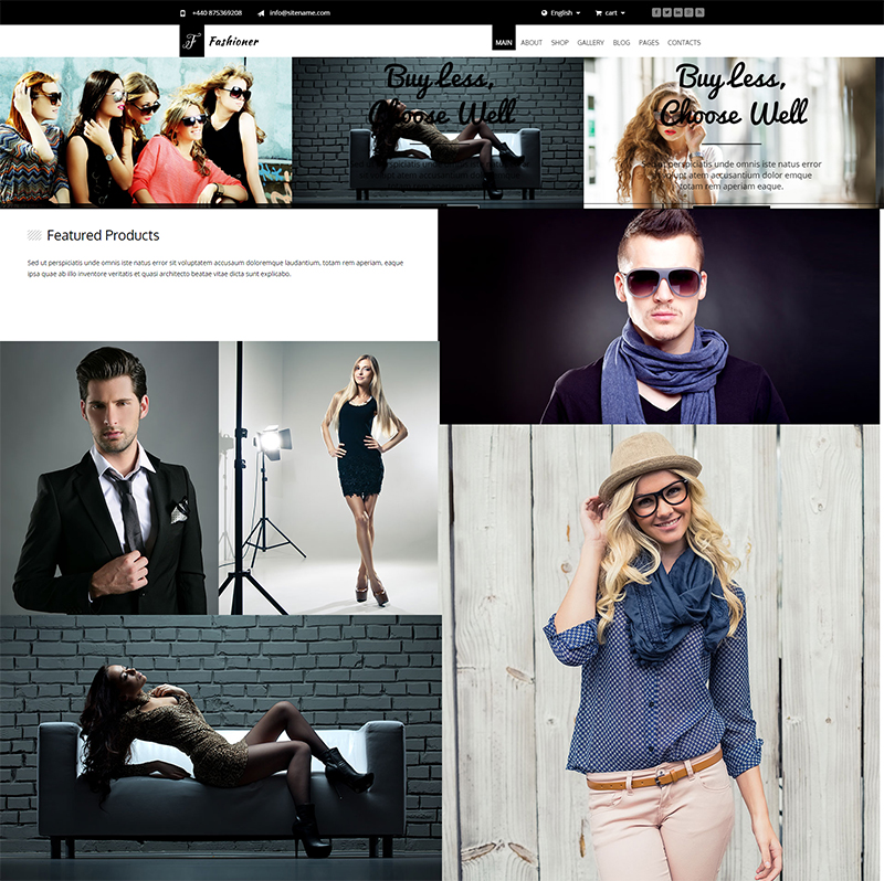 Multi Purpose Fashion HTML5 Template