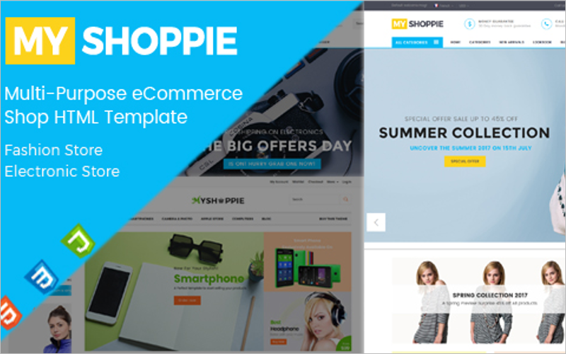 Multi-Purpose eCommerce HTML Template