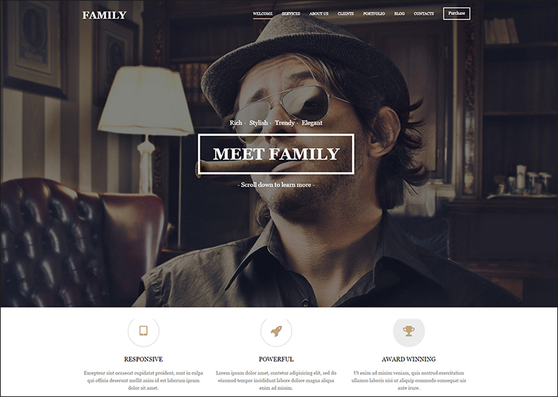 MultiPurpose HTML Template With Background Video