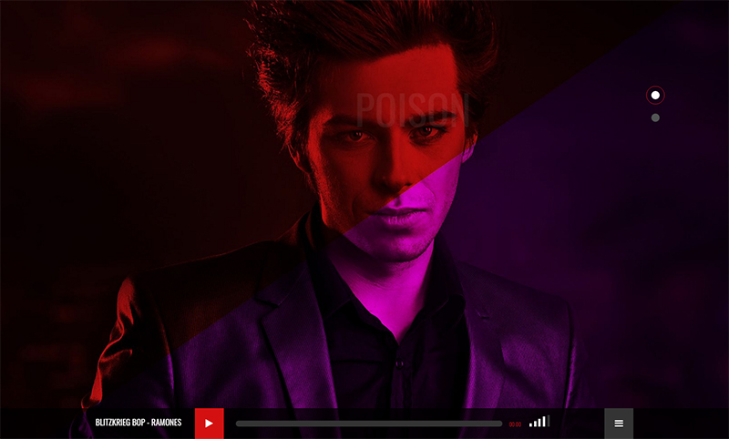 Music HTML One Page Template