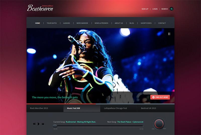 Music HTML Theme