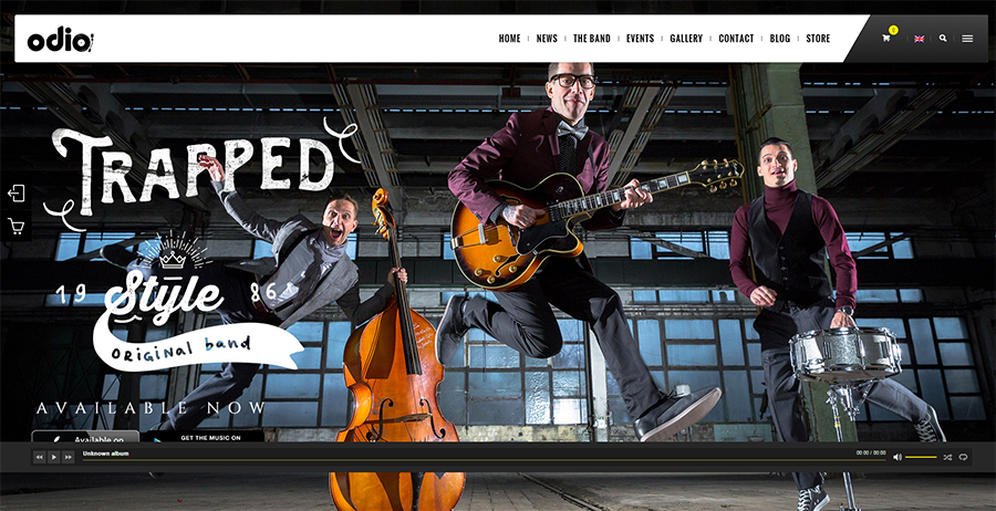 Music WP Theme For Bands & Musicians