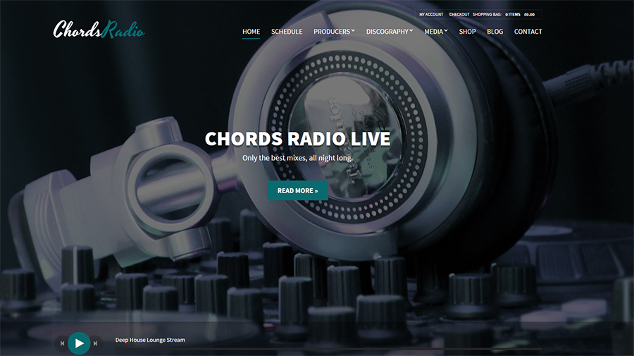 Music,Artist & Radio WordPress Theme