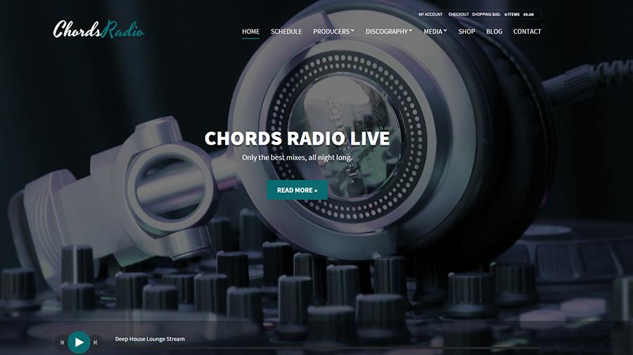 Music,Artist & Radio WordPress Theme