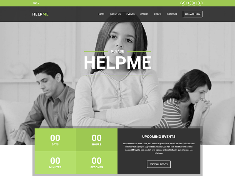 Non-Profit Charity HTML Template