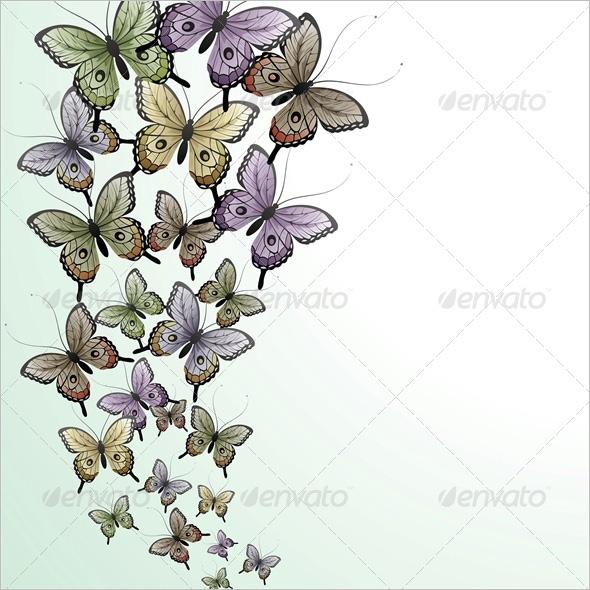 PSD Butterflies