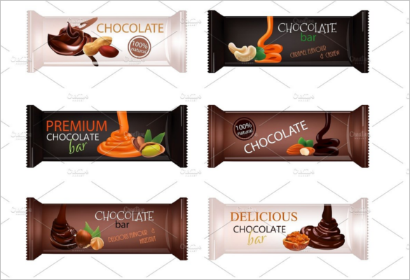 Pack Of Candy Bar Wrappers