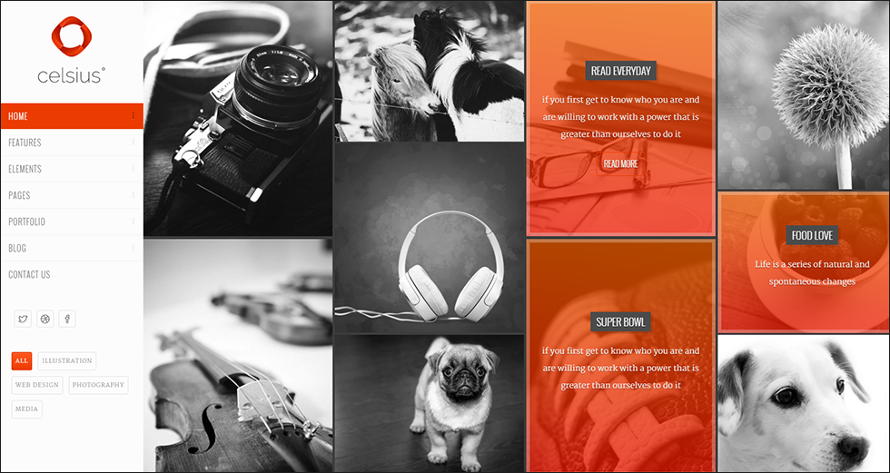 Portfolio HTML Template With Background Video