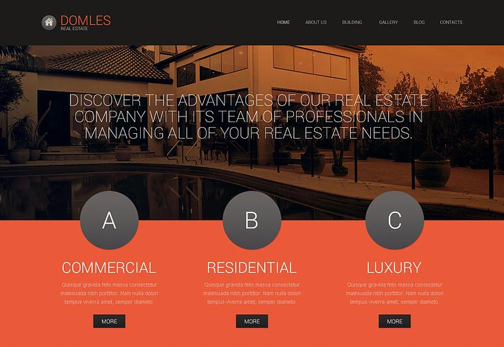 Premium Real Estate Drupal Template