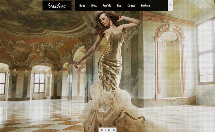 Premium Responsive Fashion Portfolio Joomla
