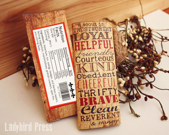 Printable Candy Bar Wrapper