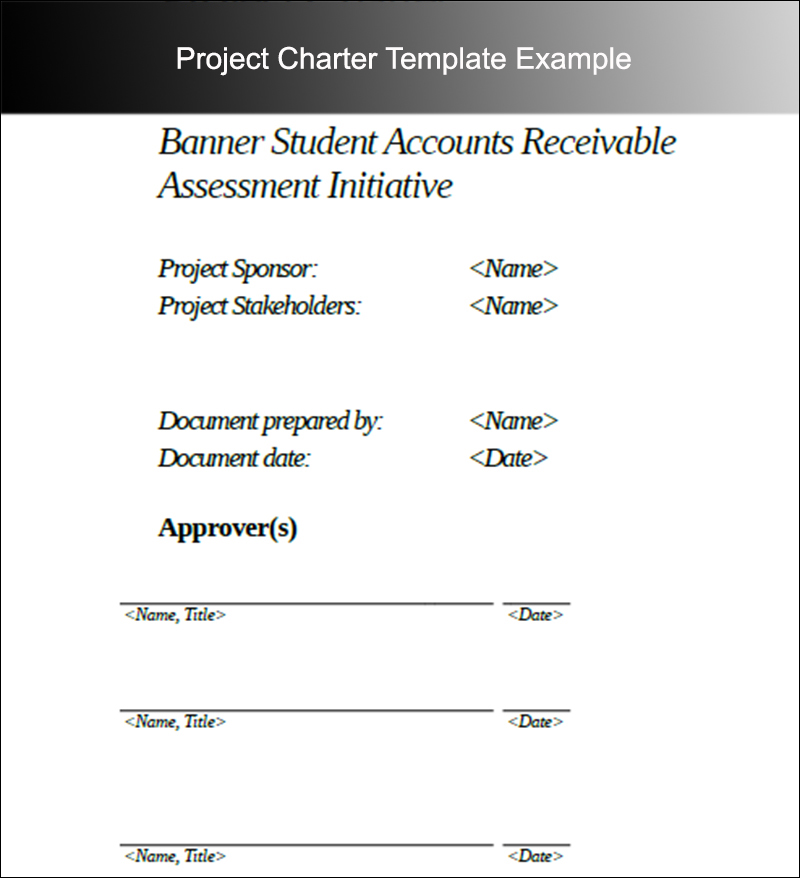 Project Charter Templates Free Word Pdf Excel Formats