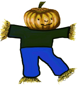 Pumpkin Headed Scarecrows Stanley