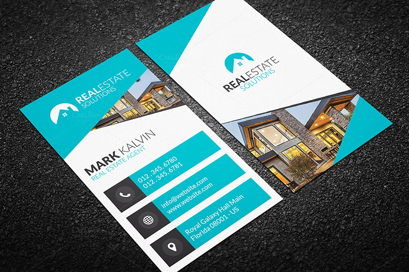 Real Estate Agent Business Card TemplateS