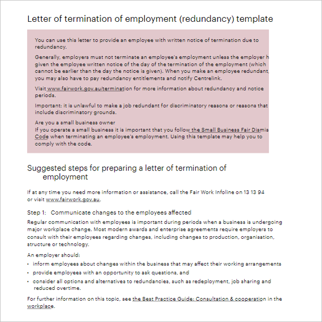Reference Company Letter Template