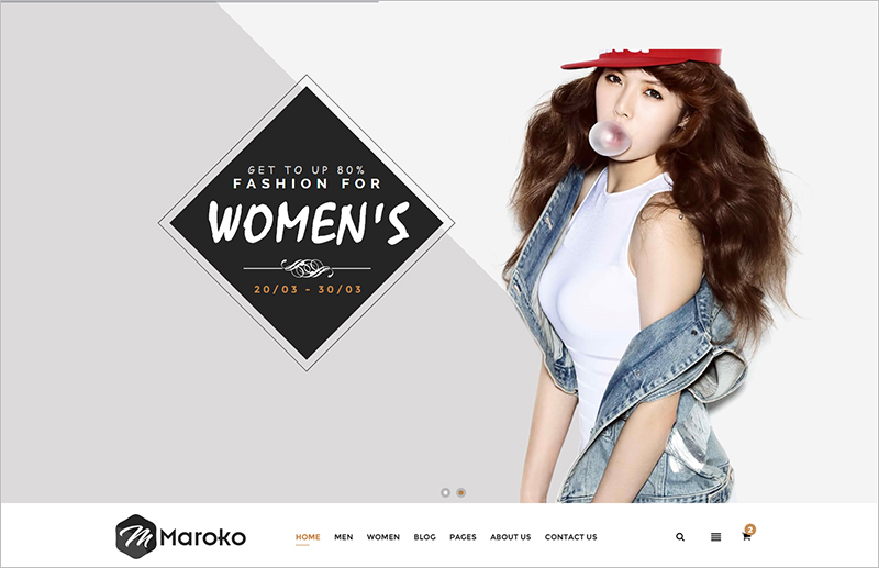 Responsive HTML5 Fashion Template