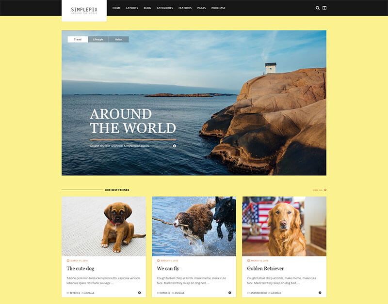 Responsive WordPress Blog Magazine Theme