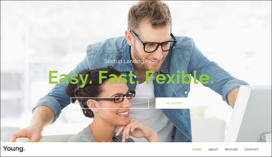 SEO Coded Landing Page Template