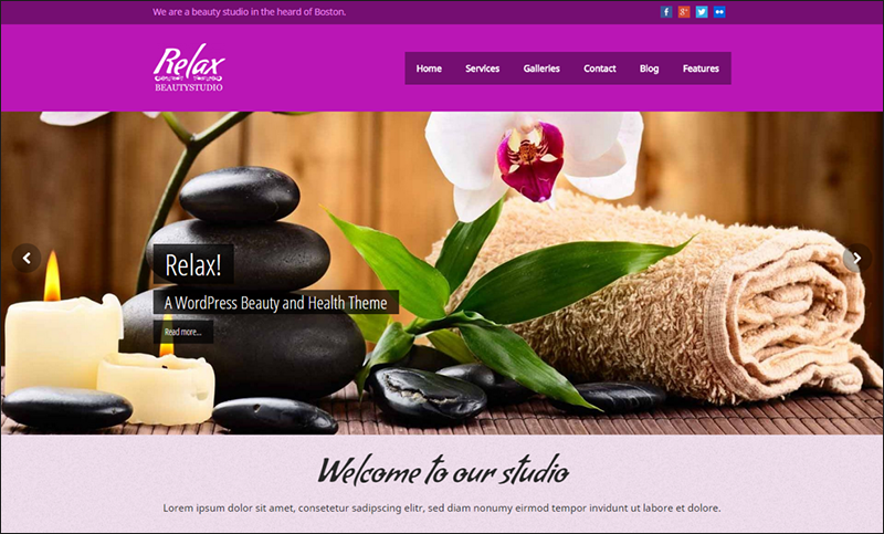 SEO Optimized Beauty & Spa WordPress Theme