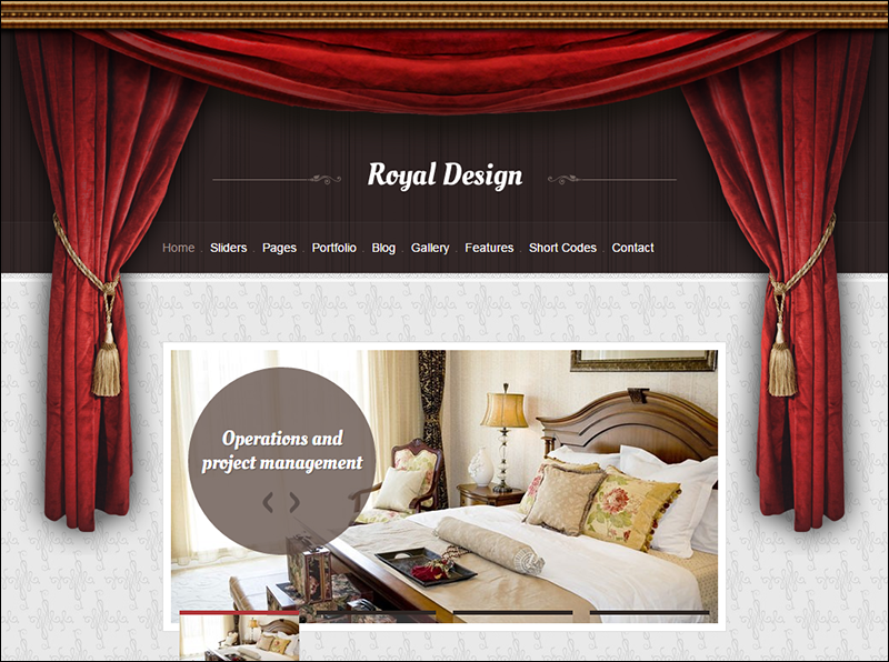 SEO Optmized Interior WordPress Theme