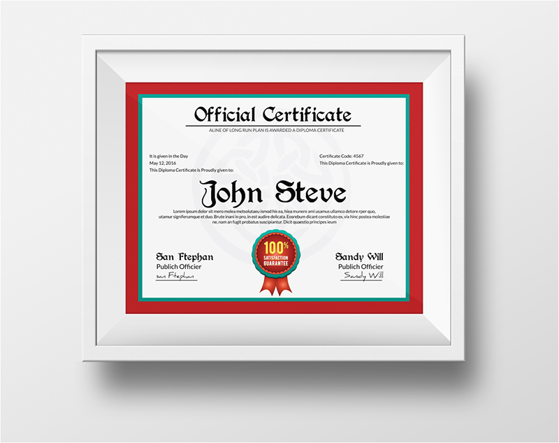 Sample Speaker Appreciation Certificate