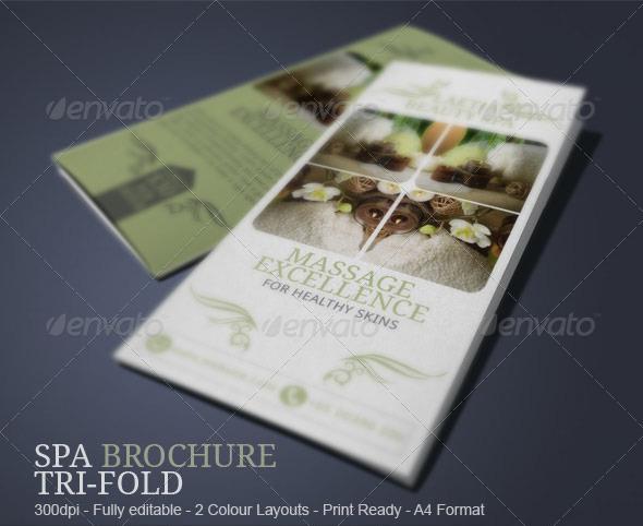 Spa Brochure Template