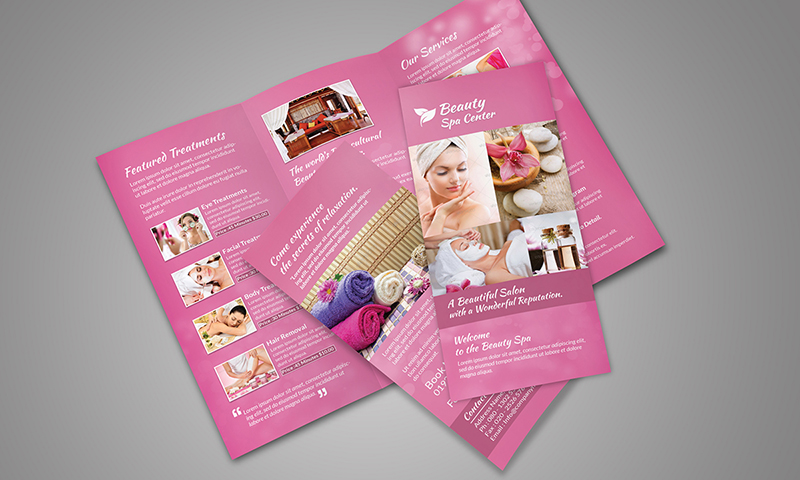 Spa Tri-Fold Brochure
