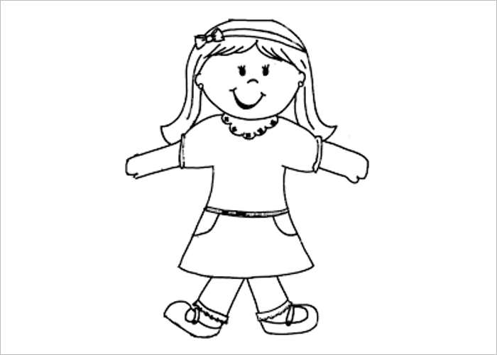 photograph about Girl Printable referred to as 45+ Flat Stanley Templates Totally free Obtain Artistic Template