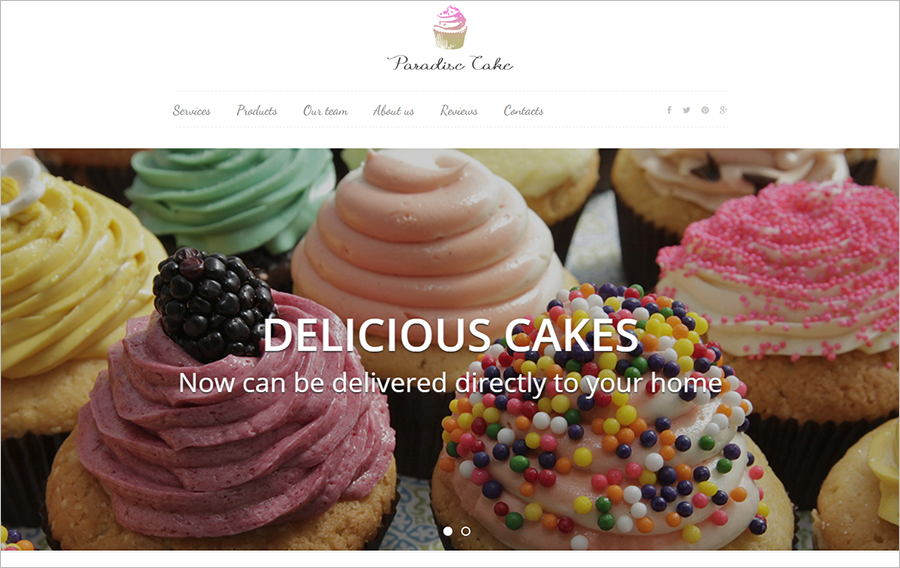 Sweet eCommerce Landing Page Template