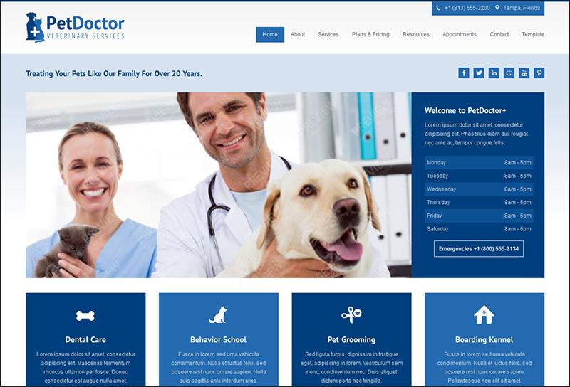 Veterinary Doctor Joomla Theme
