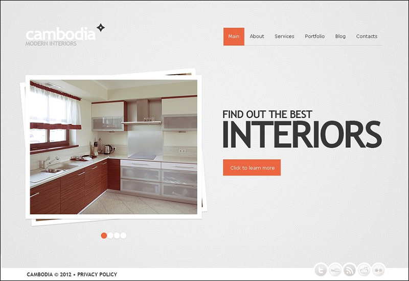 WP Interior Design Theme