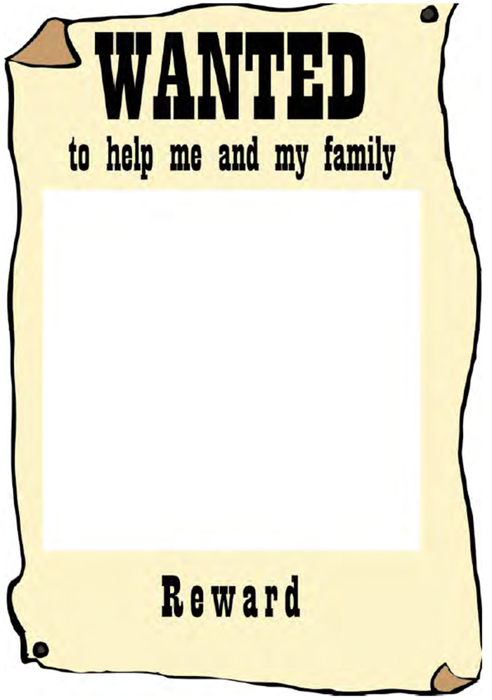 Wanted Poster Template Download