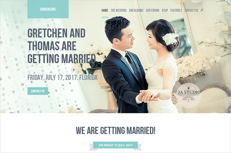 Wedding WordPress Template