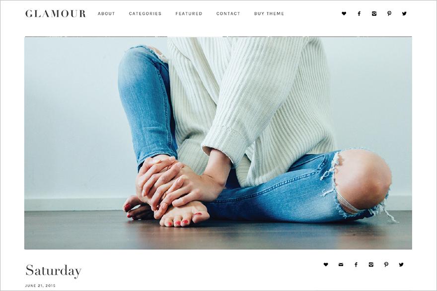 WordPress Blogging Theme SEO Friendly