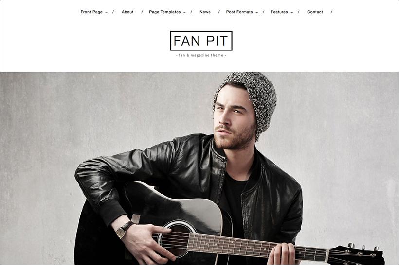 WordPress Music Magazine Theme