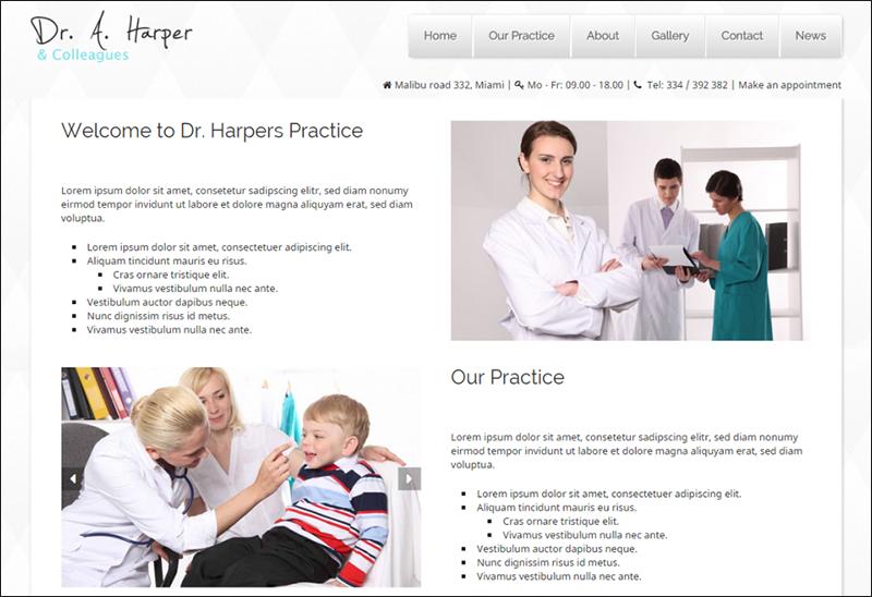 WordPress Theme For Doctors