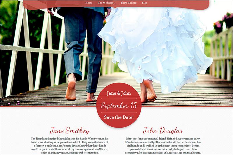 Wordpress Theme for Wedding Venue