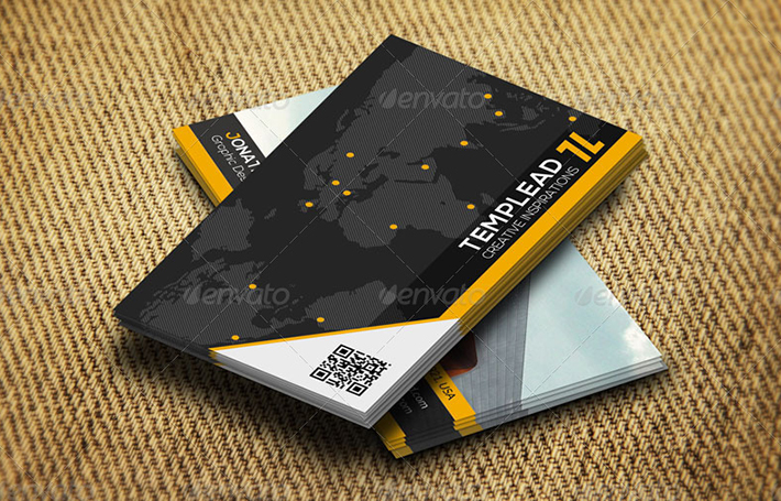 business card design for construction company
