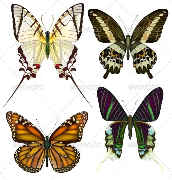 decorative butterflies crafts