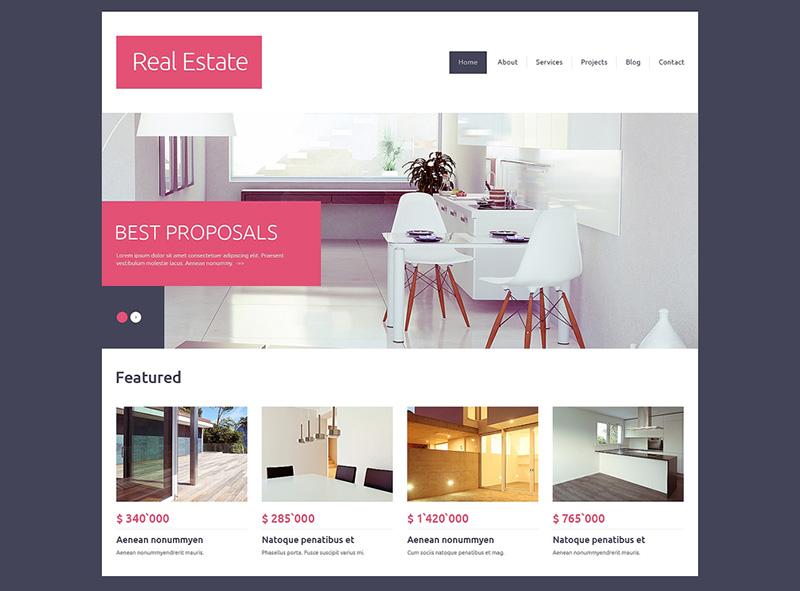 drupal real estate website