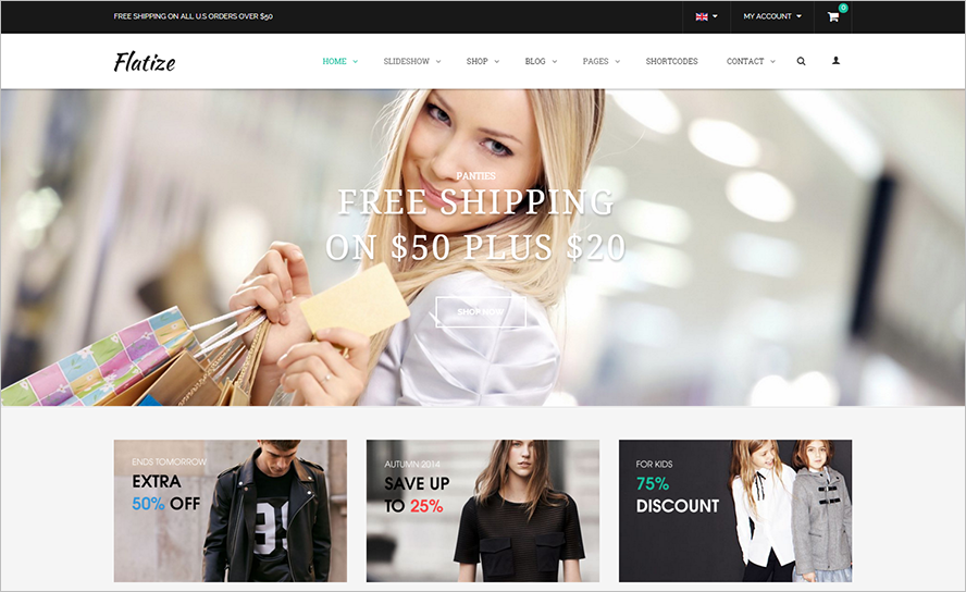 eCommerce Fashion Joomla Template