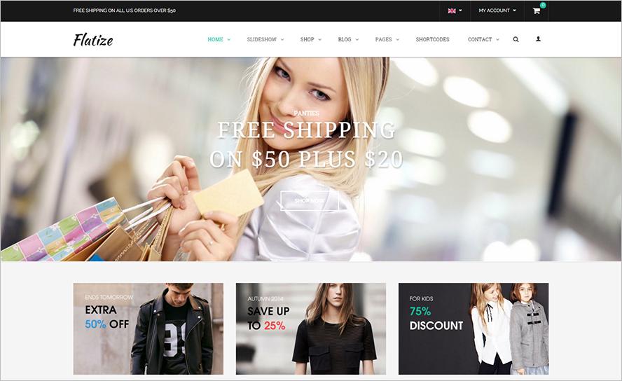 eCommerce Fashion Joomla Template