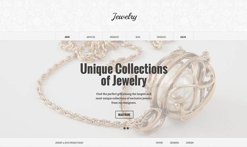 jewelry joomla template